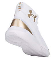 Under Armour Basket Grade School X Level Ninja - scarpe da basket - ragazzo, White