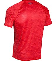 Under Armour Boxed Logo Printed T-Shirt palestra, Red/Black