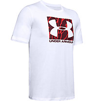 Under Armour Boxed Sportstyle Camo Fill - Trainingsshirt - Herren, White/Red