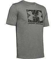 Under Armour Boxed Sportstyle Camo Fill - Trainingsshirt - Herren, Green