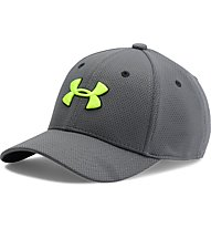 Under Armour Boys Blitzing 2.0 Schirmkappe, Grey/Green