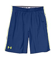 Under Armour Boys' UA Edge Shorts, Blue/Yellow