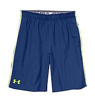 Under Armour Boys' UA Edge Shorts, Blue/Yellow