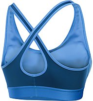 Under Armour Bra Crossback Mid Sport-BH, Light Blue