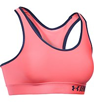 Under Armour Mid Impact Sport-BH, Brillance Pink