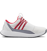 Under Armour Breathe Lace - scarpe jogging - donna, White/Red