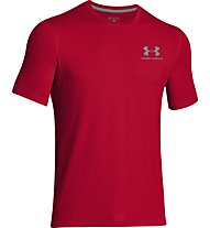 Under Armour UA Sportstyle Logo Left Chest T-Shirt Herren, Red