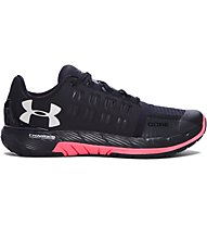 Under Armour Charged Core W Damen Trainingsschuh, Black/Salmon