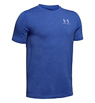 Under Armour Charged Cotton - T-Shirt - Kinder, Blue