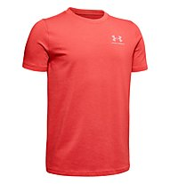 Under Armour Charged Cotton - T-Shirt - Kinder, Red