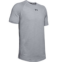 Under Armour Charged Cotton - Trainingsshirt - Herren, Light Grey