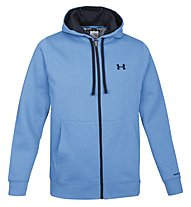 Under Armour Charged Cotton Storm Transit Full-Zip Hoodie, Light Blue