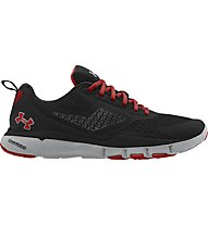 Under Armour Charged One TR - scarpa da ginnastica, Black/Steel