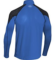 Under Armour Coldgear Chrome - Laufshirt, Blue Jet/Black/Reflective