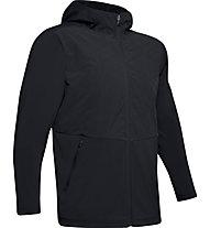 Under Armour ColdGear Reactor Gametime Hybrid - giacca con cappuccio - uomo, Black