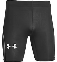 Under Armour Cool Switch Run Comp - pantaloncini running, Black