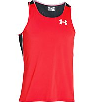 Under Armour Cool Switch maglia running senza maniche, Red