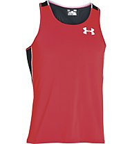Under Armour Cool Switch Run Singlet - Laufshirt, Red