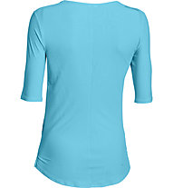 Under Armour Coolswitch Run Elbow T-shirt running donna, Blue