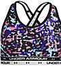 Under Armour Crossback Printed - Sport-BH - Mädchen , Black