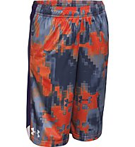 Under Armour Eliminator Printed Short Junior, Dark Orange/Blue