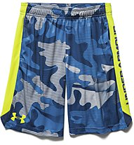 Under Armour Eliminator Printed Short Jungen, American Blue