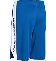 Under Armour Eliminator Short Pantaloni corti fitness Ragazzo, Blue/White