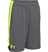 Under Armour Eliminator Short Pantaloni corti fitness Ragazzo, Grey/Green