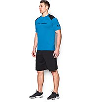 Under Armour Exclusive Loose T-Shirt, Blue/Black