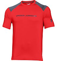 Under Armour Exclusive Loose T-Shirt, Red/Black