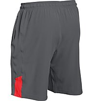 Under Armour Exclusive HG Loose Fit Short pantaloncini ginnastica, Grey/Red