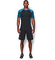 Under Armour Exlusive Coolswitch Kompression Trainingsshirt Männer, Black/Blue