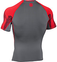Under Armour Exlusive Coolswitch Kompression Trainingsshirt Männer, Grey/Red