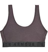 Under Armour Favorite Cotton Everyday Bra - Sport BH - Damen, Dark Violet/Black