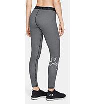 Under Armour Favorite GRPH Legging Logo - Trainingshose - Damen, Black