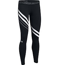 Under Armour Favorite Legging Engineered - lange Trainingshose - Damen, Black