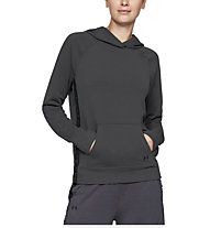 Under Armour Featherweight Fleece Hoody - felpa con cappuccio - donna, Black