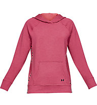 Under Armour Featherweight Fleece Hoody - felpa con cappuccio - donna, Pink