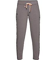Under Armour Featherweight Fleece P - Trainingshose - Damen, Light Brown