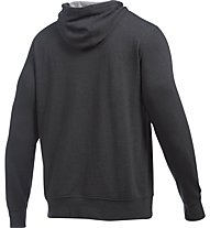 Under Armour Felpa Tri-Blend Fleece Graphic - Kapuzenpullover - Herren, Asphalt Heather Grey