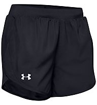 Under Armour Fly-By 2.0 - pantaloni corti running - donna, Black