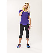 Under Armour Fly By 2.0 Capri Kompression Laufhose Damen, Black