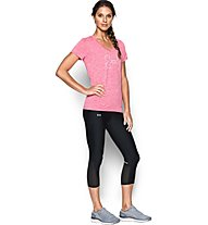 Under Armour Fly By Laufhose Capri Damen, Black