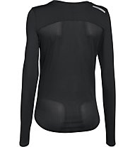 Under Armour Fly By Solid - langärmeliges Trainings-/Laufshirt - Damen, Black