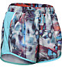 Under Armour Fly By Printed - pantaloncini running - donna, Multicolor/Light Blue