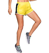 Under Armour Fly By - pantaloni running - donna, Yellow/Black
