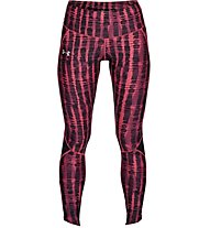 Under Armour Fly Fast Printed - Laufhose lang - Damen, Pink