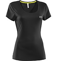 Under Armour Flyweight T-Shirt donna, Black