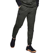 Under Armour Gametime Fleece - pantaloni fitness - uomo, Dark Green