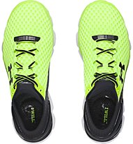 Under Armour Gemini 2 scarpa running, Lime/Black